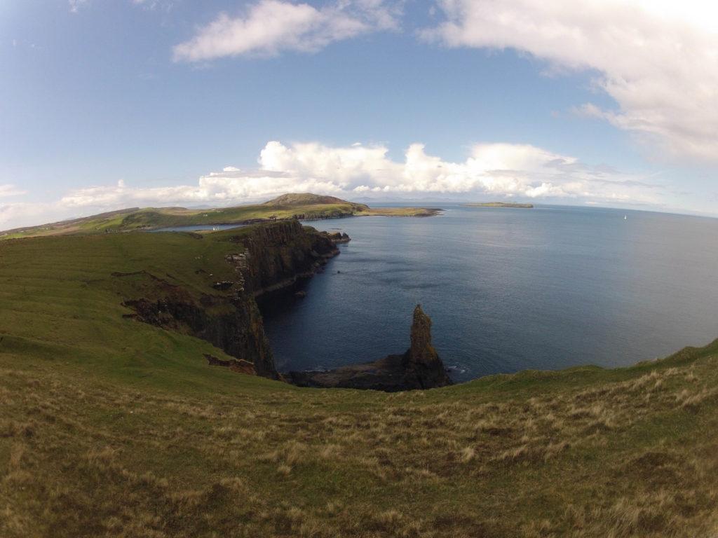 Blick auf die Halbinsel Rubha Hunish