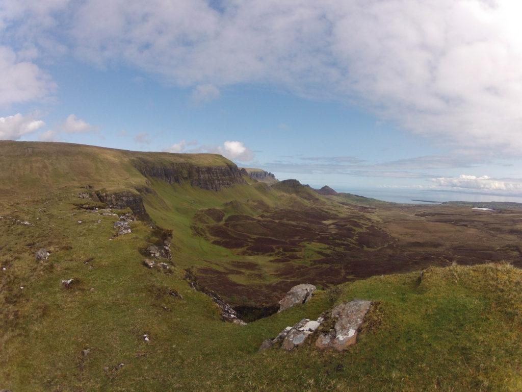 The Ridge auf Etappe 2 am Skye Trail