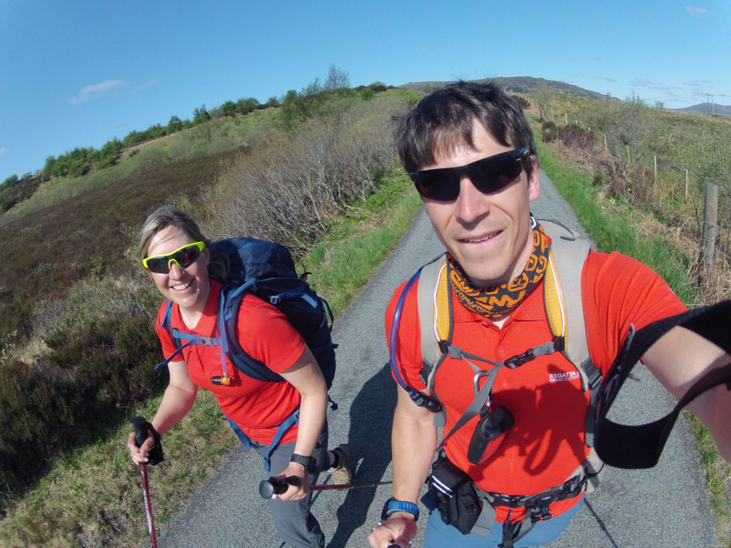 Etappe 4 am Skye Trail auf Single Track Roads