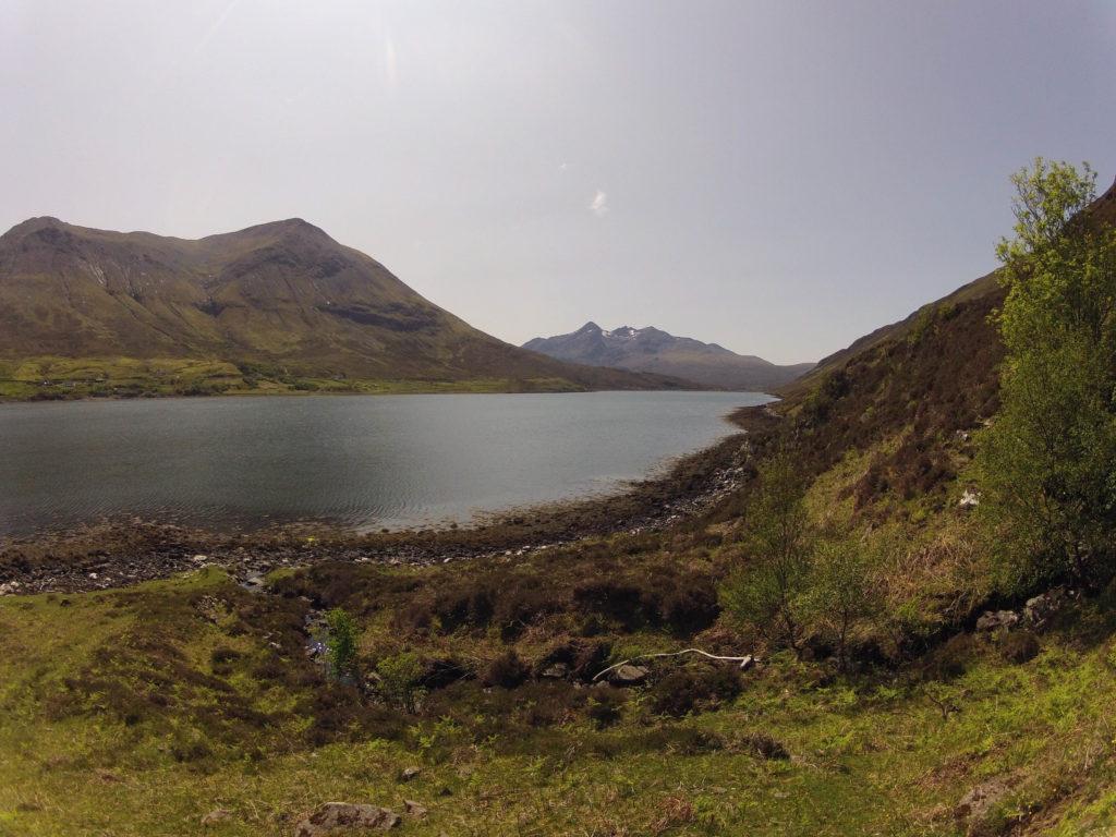 letzter Abschnitt auf Etappe 4 am Skye Trail