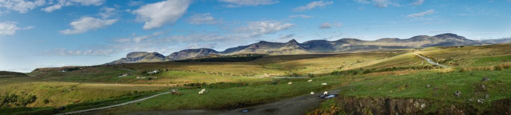 Etappe 2 beim Wandern am Skye Trail in Schottland
