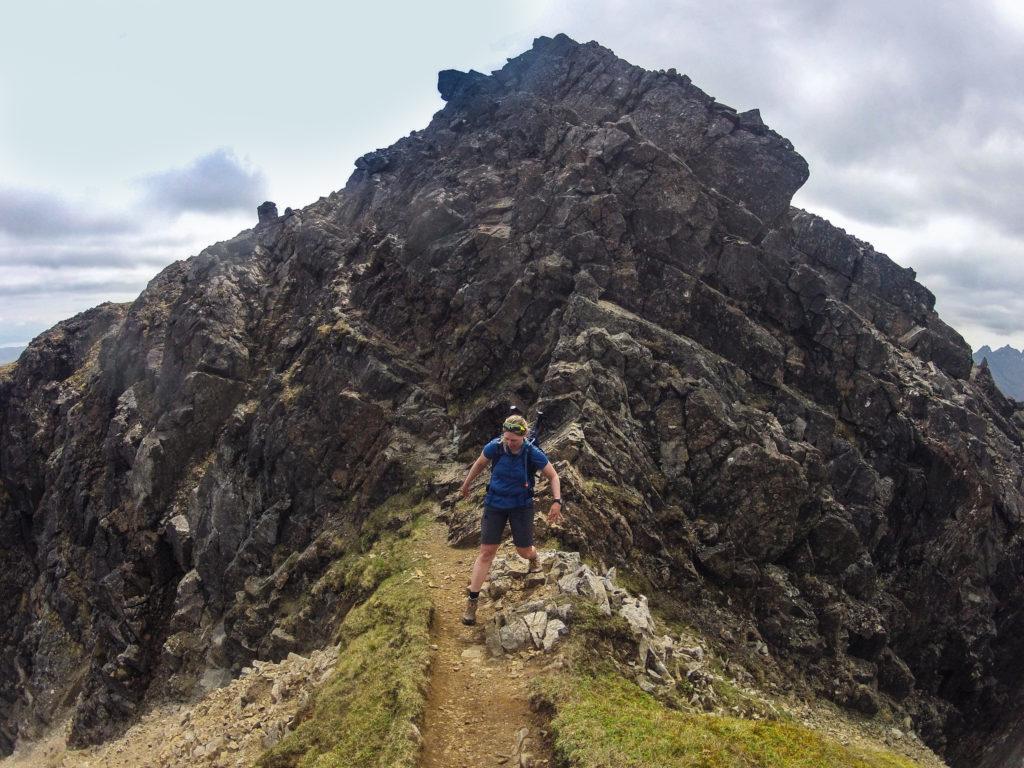 Rita am Bla Bheinn, Alternativroute der Etappe 6 am Skye Trail