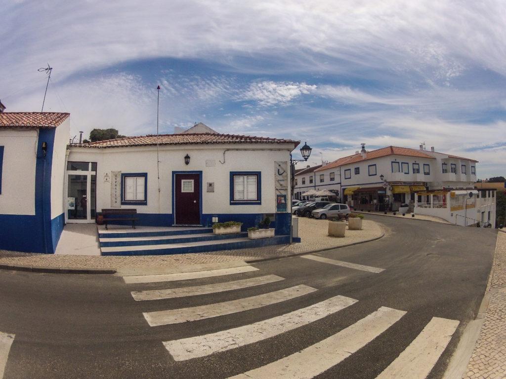 Porto Covo, Start der Etappe 1 am Fischerpfad