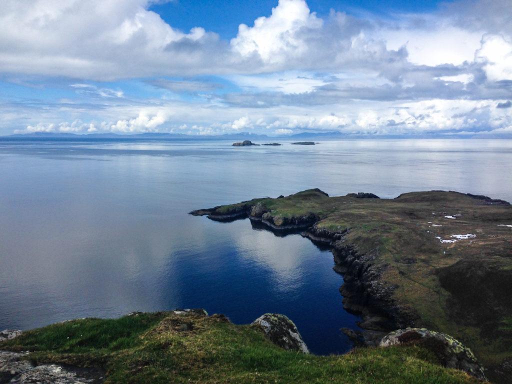 Rubha Hunish, Etappe 1 beim Wandern am Skye Trail in Schottland