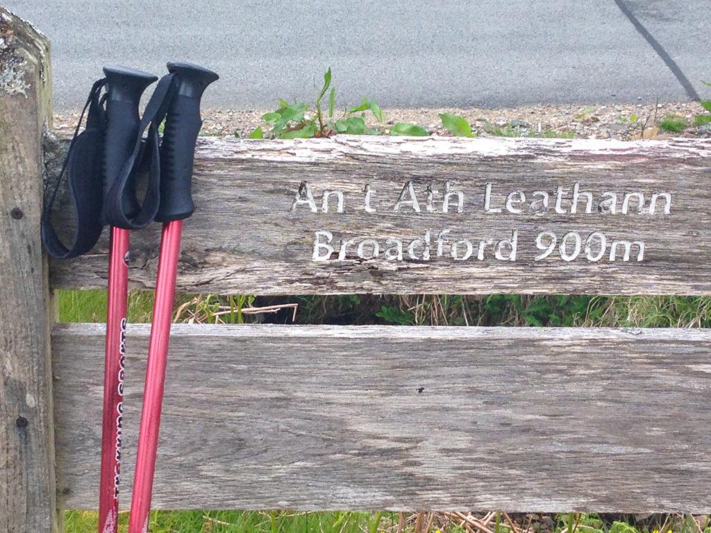 Ankunft in Broadford
