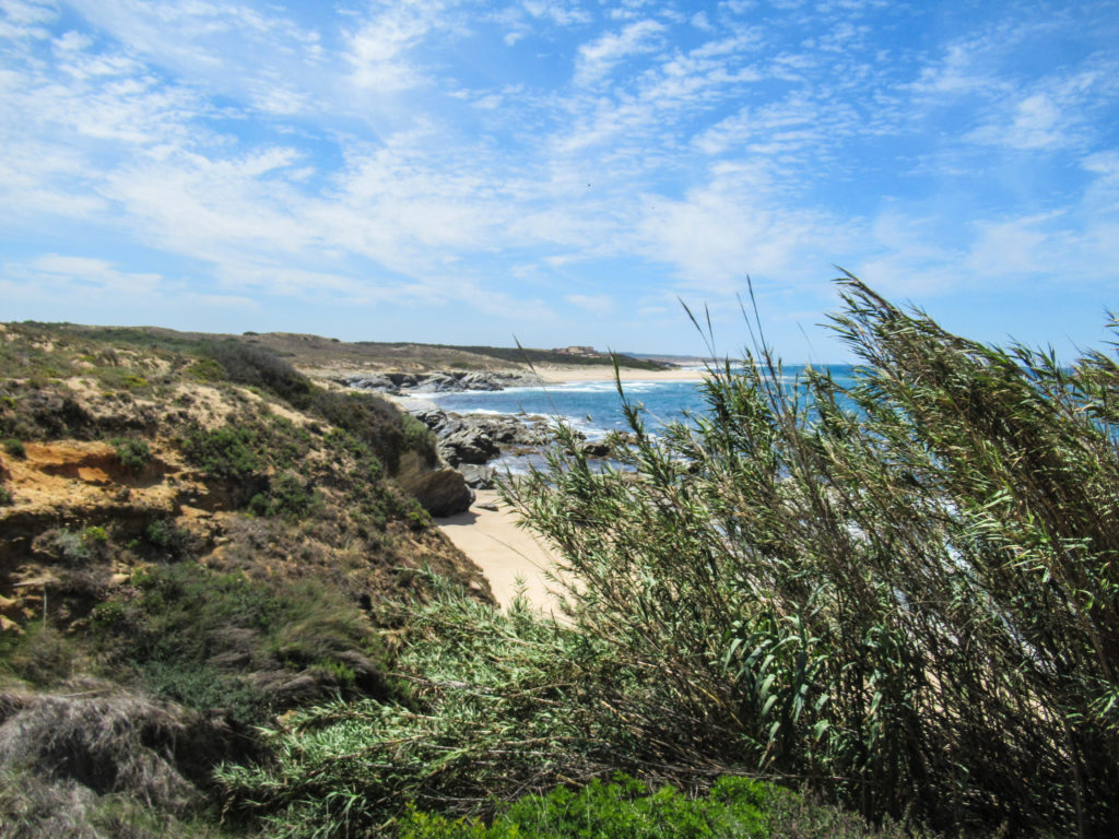 Wandern entlang der Küste