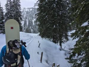 Skitour Leobner in Johnsbach, Gesäuse
