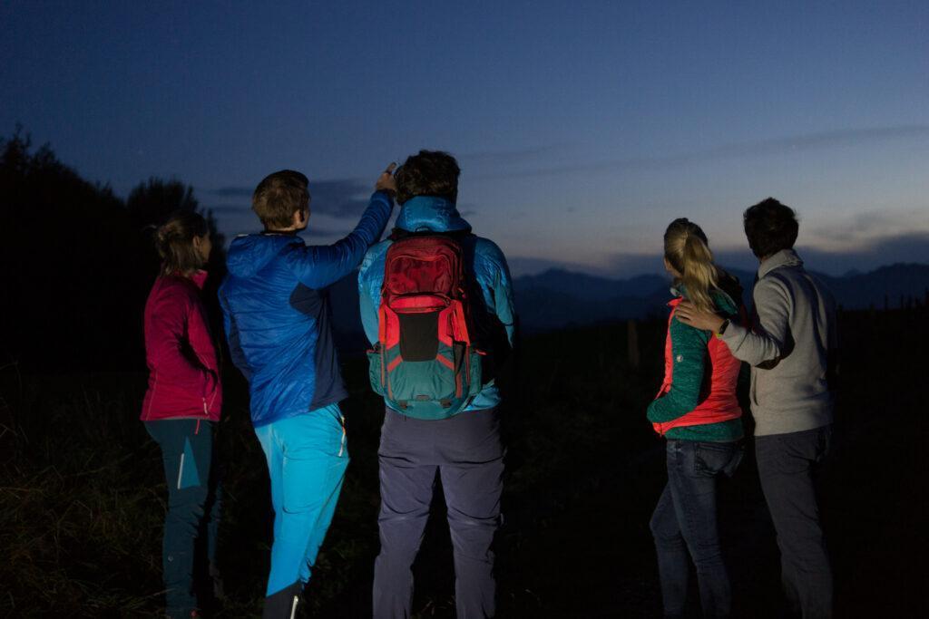 Die Natur der Nacht am Damberg